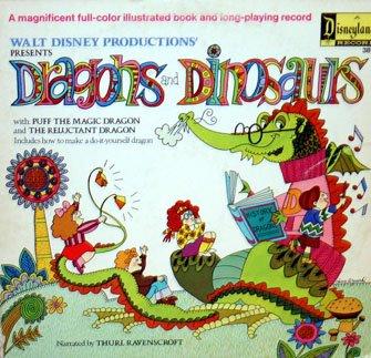 Dragons And Dinosaurs - Walt Disney Story Soundtrack, Thurl Ravenscroft LP/CD