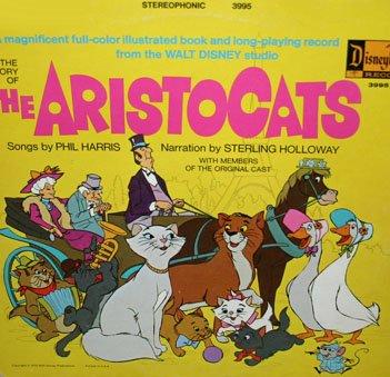The Aristocats - Walt Disney Story & Songs Soundtrack LP/CD