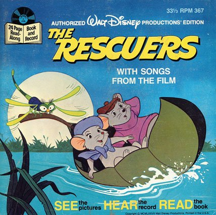 Walt Disney Productions The Rescuers See Hear Read