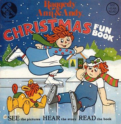 Raggedy Ann & Andy Christmas - See-Hear-Read Soundtrack & Fun Book EP/CD