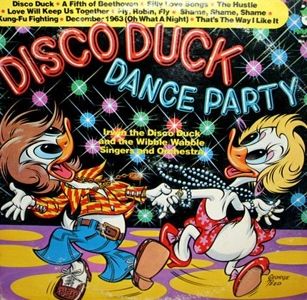 Disco Duck Dance Party - Peter Pan 70's Music Collection LP/CD