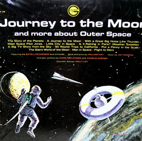 Journey To The Moon and More About Outer Space - Story & Music Collection LP/CD