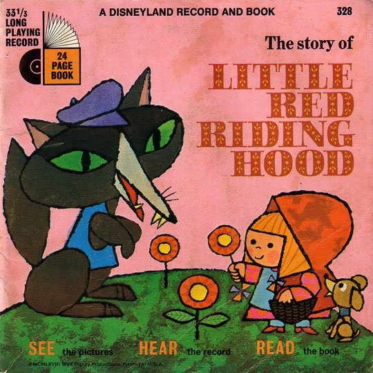 Little Red Riding Hood - See-Hear-Read Soundtrack & Book EP/CD
