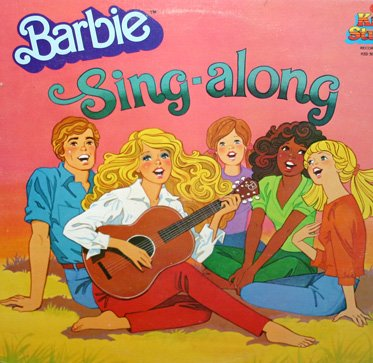 Barbie Sing-Along - Music Collection Soundtrack LP/CD