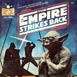 The Empire Srikes Back (Star Wars) - See-Hear-Read Soundtrack & Book EP/CD