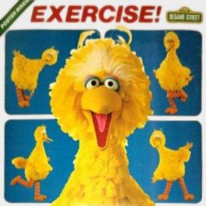 Exercise! - Sesame Street Soundtrack, Big Bird LP/CD