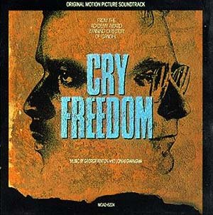 Cry Freedom - Original Soundtrack, George Fenton & Jonas Gwangwa OST LP/CD