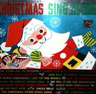Christmas Sing Along - Parade Records Holiday Collection (XSP 412) LP/CD