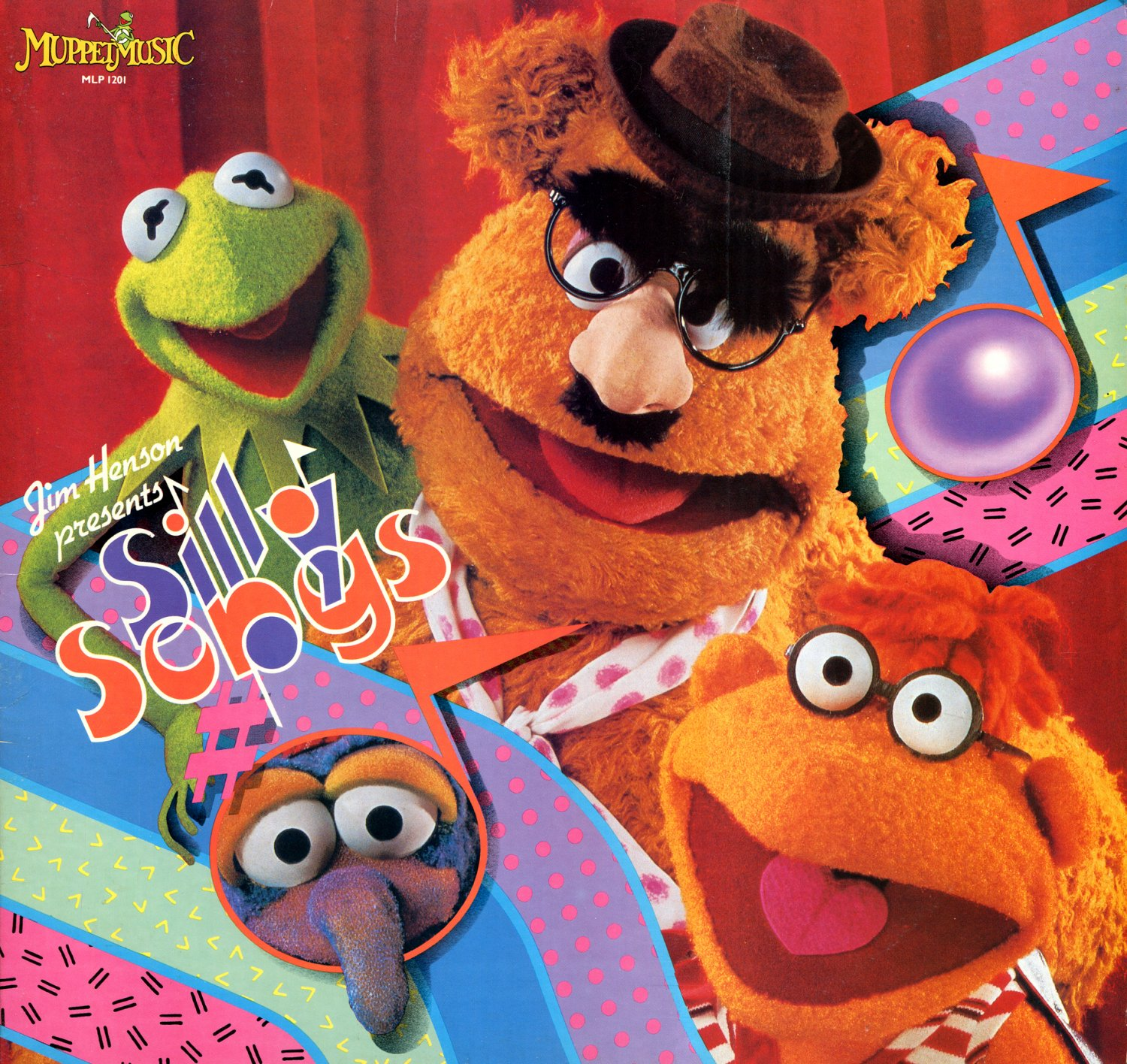 Jim Henson presents Silly Songs from The Muppet Show - Original Soundtrack LP/CD