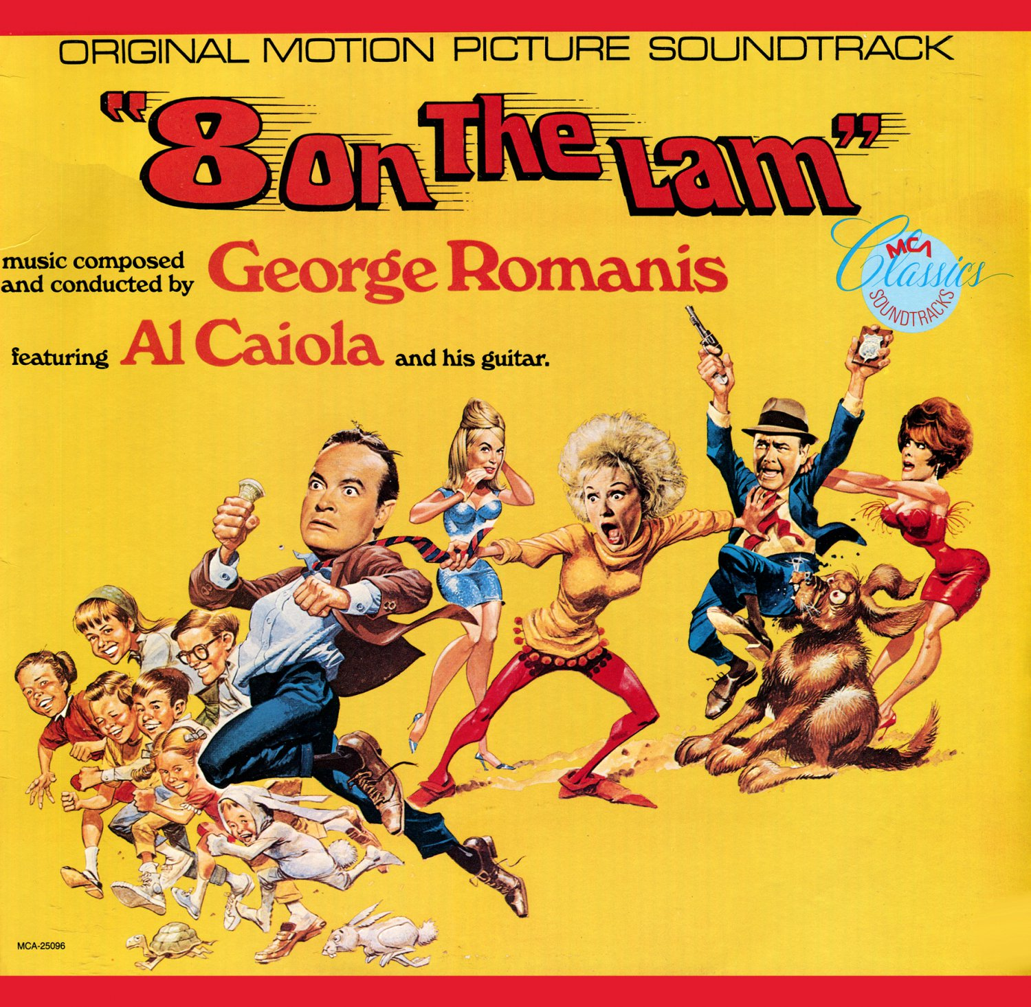 Eight On The Lam - Original Soundtrack, George Romanis OST LP/CD 8