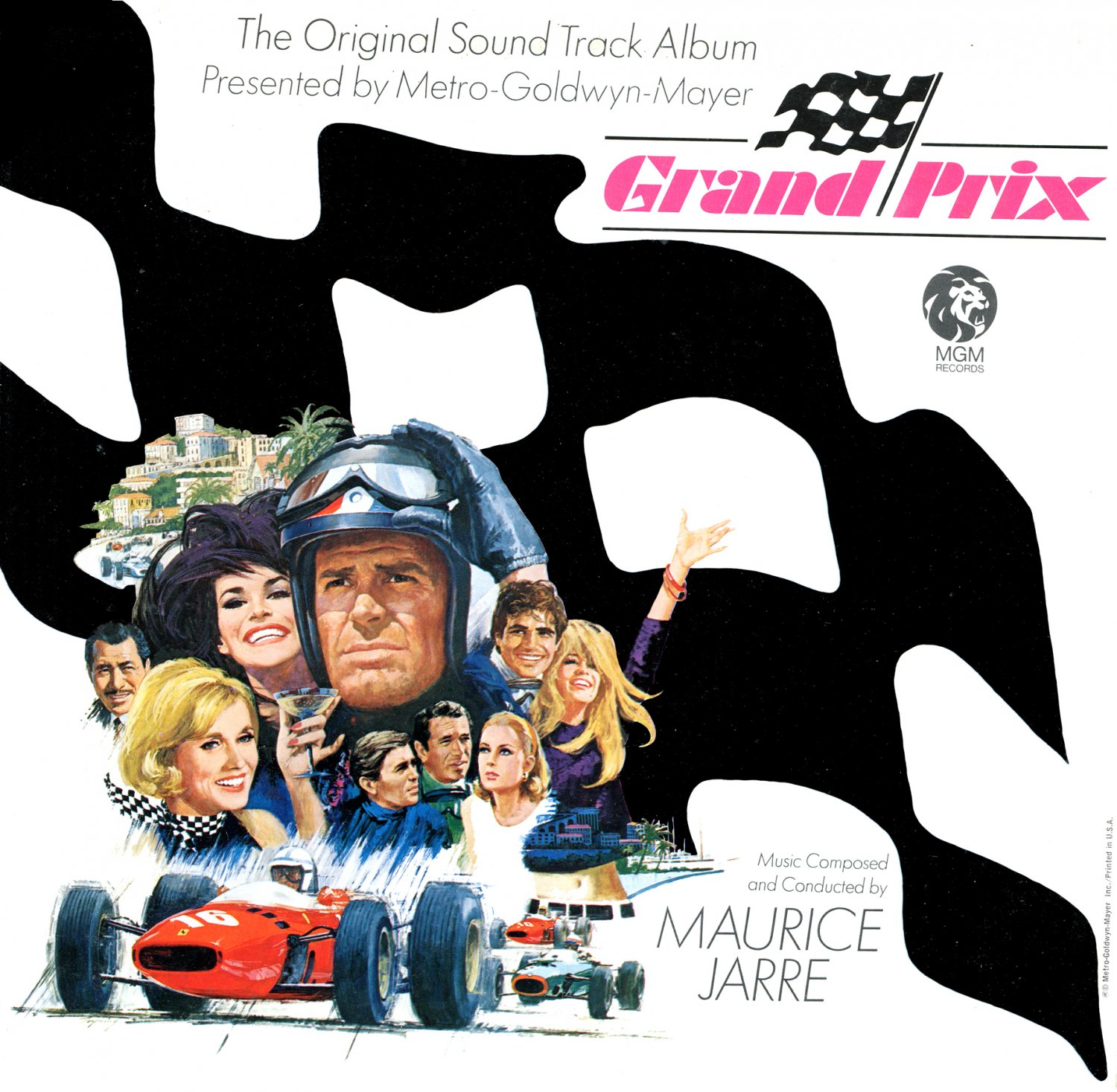 Grand Prix - Original Soundtrack, Maurice Jarre OST LP/CD