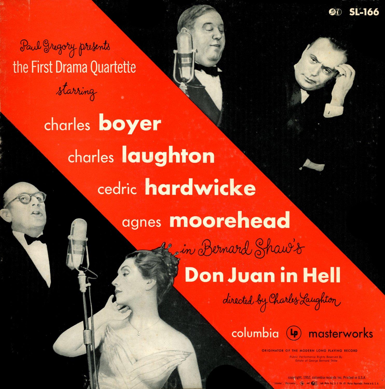 Don Juan In Hell - The First Drama Quartette, Bernard Shaw LP/CD