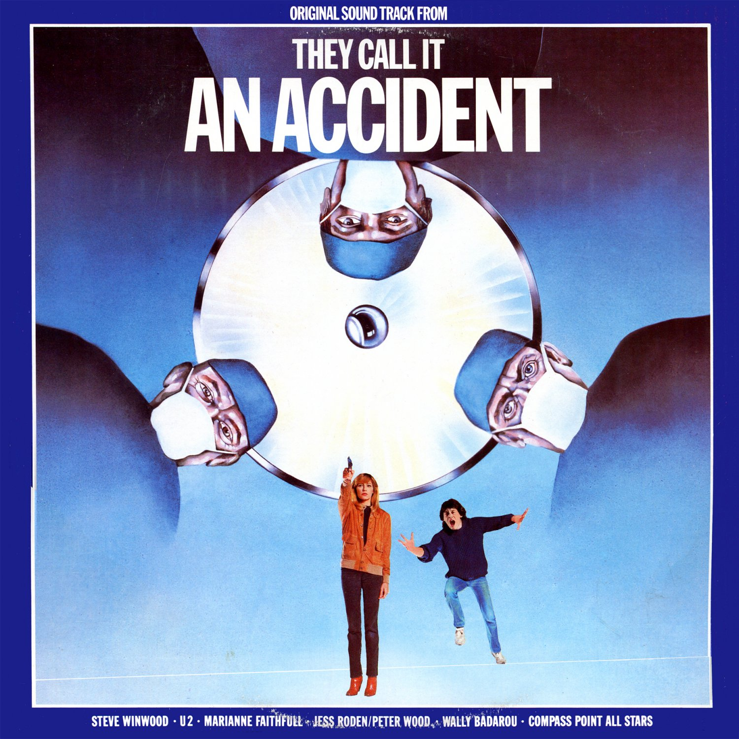 They Call It An Accident - Original Soundtrack, Steve Winwood OST LP/CD