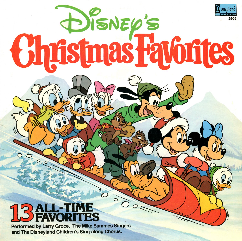 disneys christmas favorites 13 all time favorites holiday music collection lpcd - Disney Christmas Music