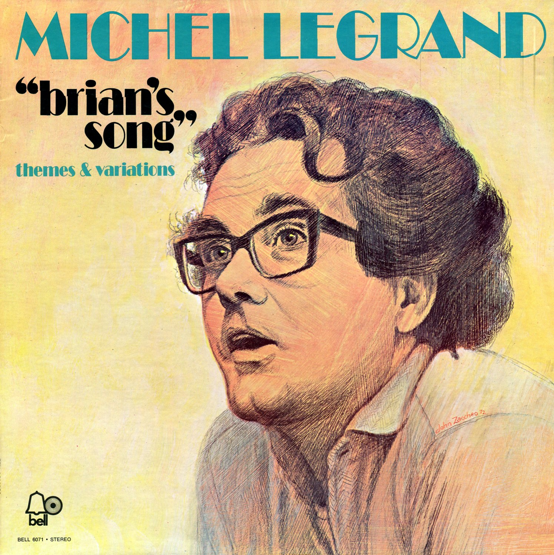 Brian's Song (Themes & Variations) - Original Soundtrack, Michel Legrand OST LP/CD
