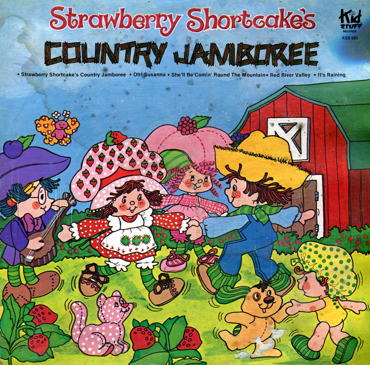 Strawberry Shortcake's Country Jamboree - Music Collection LP/CD