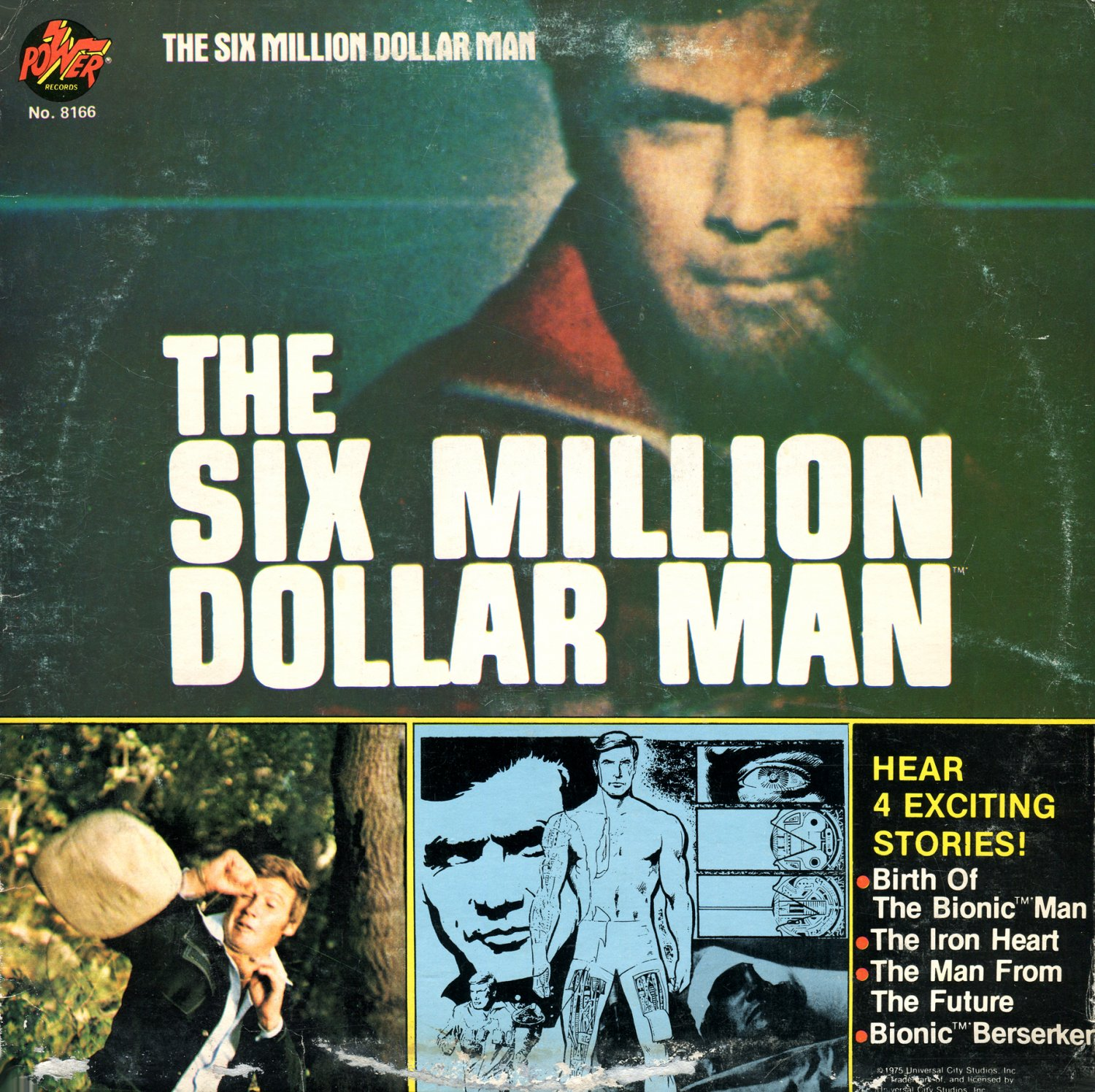 The Six Million Dollar Man - Four Exciting Stories (1976) LP/CD
