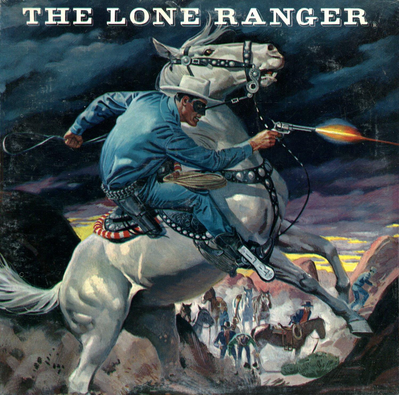 the lone ranger original radio broadcast collection lp cd