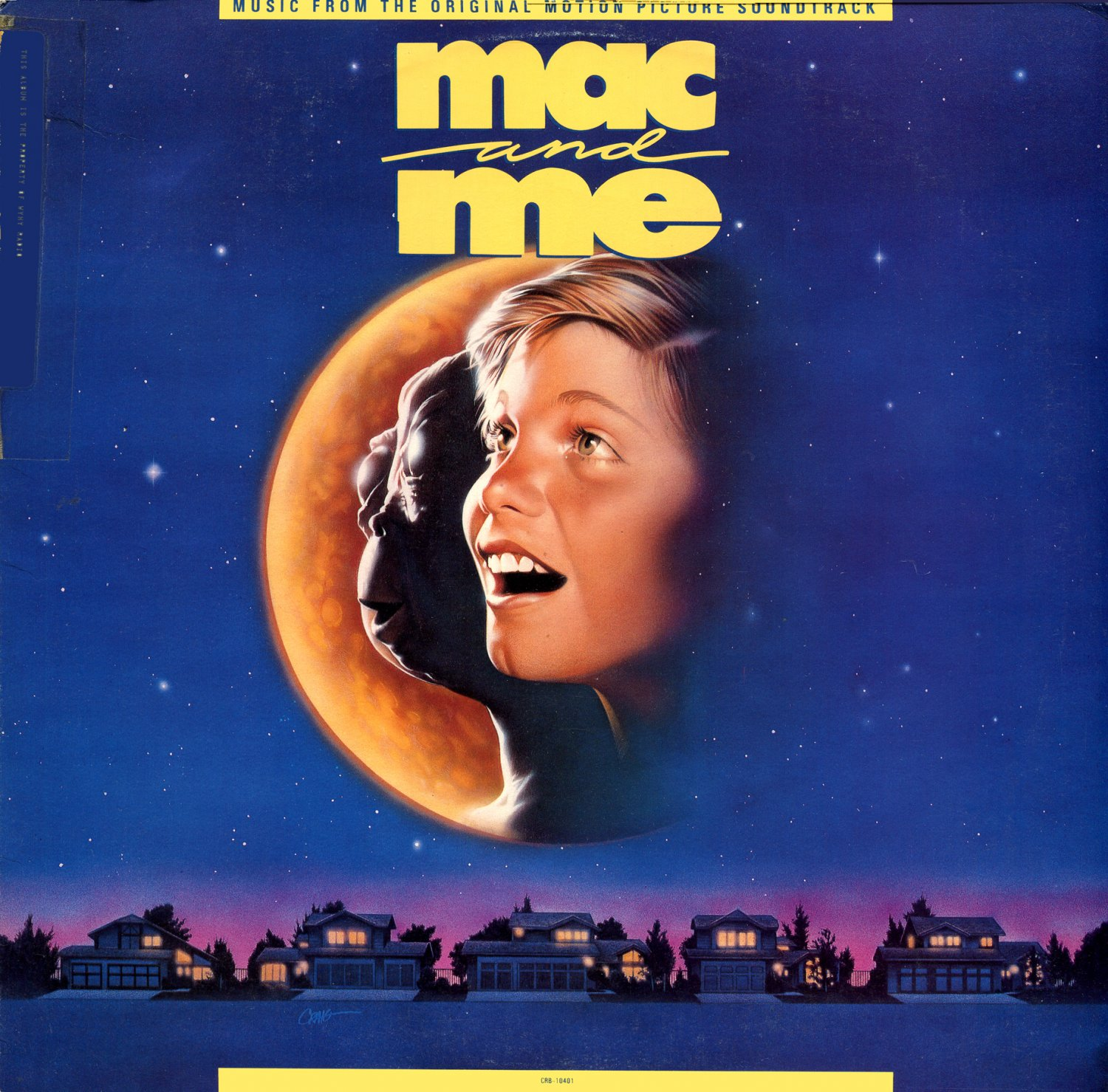 Mac And Me - Original Soundtrack, Alan Silvestri OST LP/CD