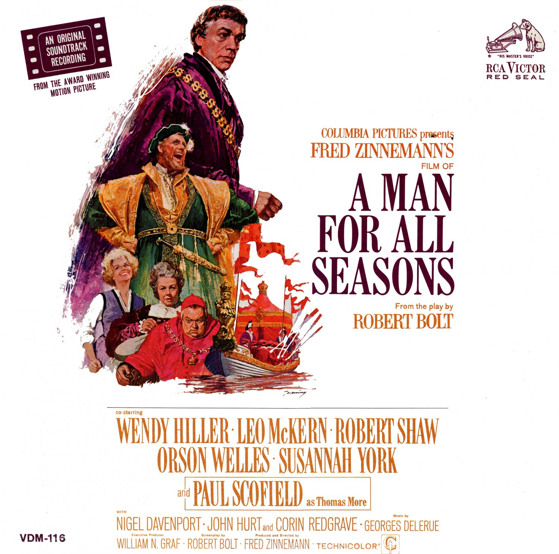 A Man For All Seasons - Original Soundtrack, Georges Delerue OST LP/CD