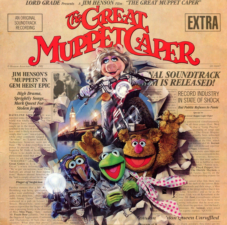 The Great Muppet Caper Original Movie Soundtrack Joe