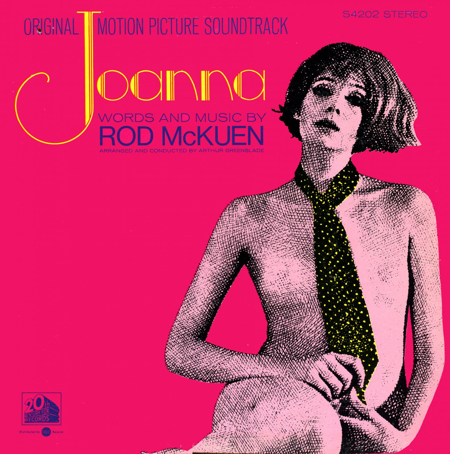 Joanna (1968) - Original Soundtrack, Rod McKuen OST LP/CD