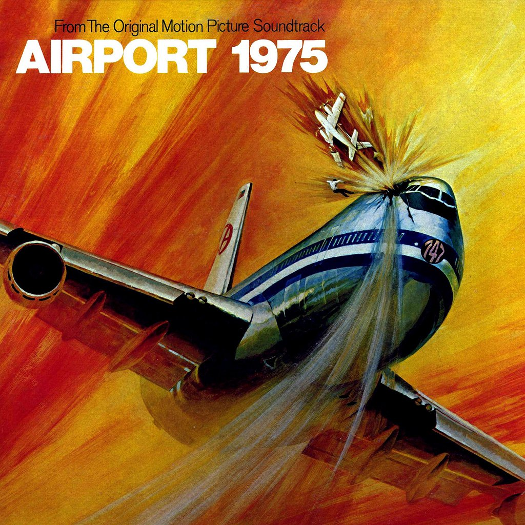 Airport 1975 - Original Soundtrack, John Cacavas OST LP/CD