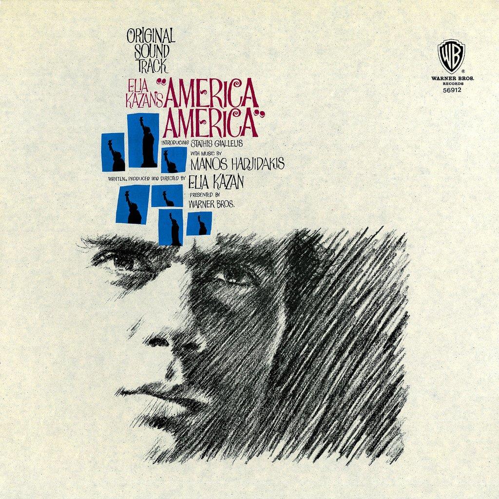 America, America - Original Soundtrack,  Manos Hadjidakis OST LP/CD