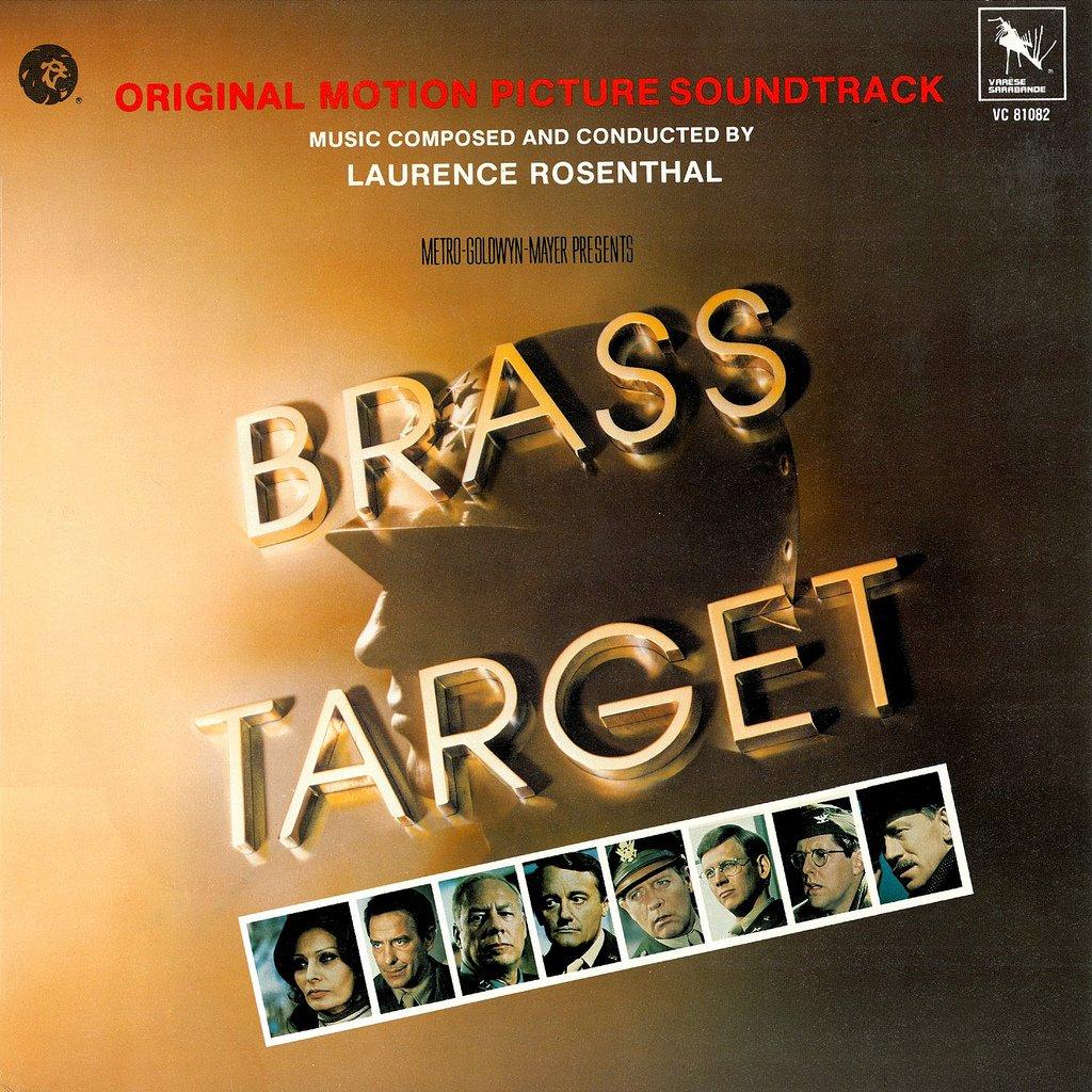 Brass Target - Original Soundtrack, Laurence Rosenthal OST LP/CD