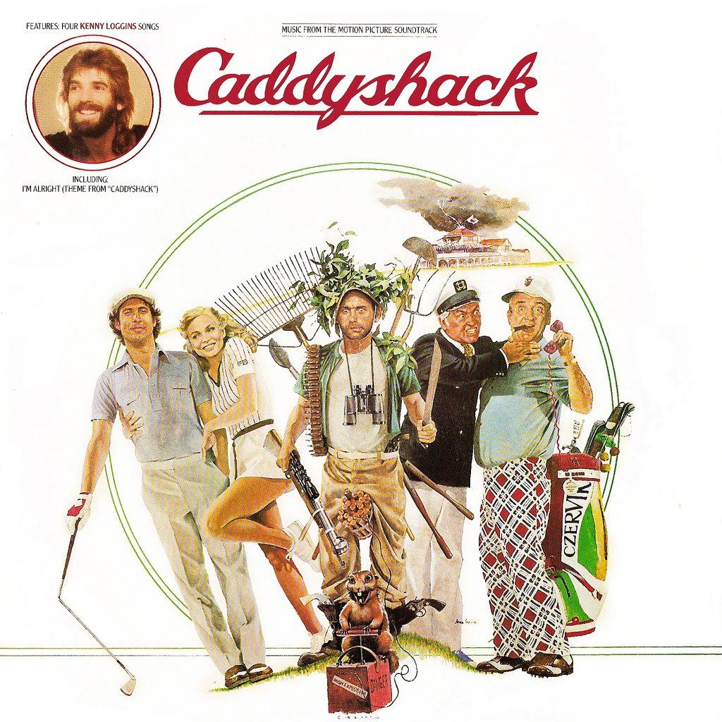 Caddyshack - Original Soundtrack, Johnny Mandel & Kenny Loggins OST LP/CD