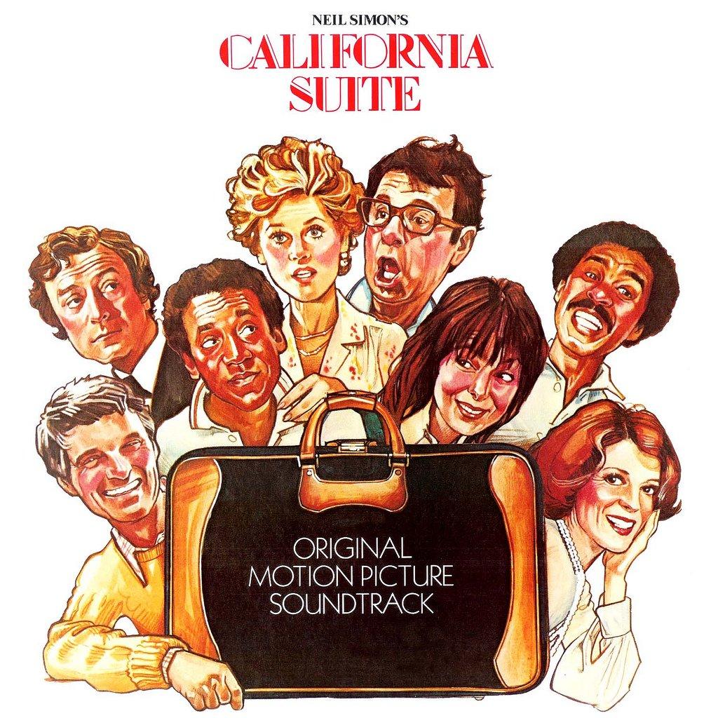 Neil Simon's California Suite - Original Soundtrack, Claude Bolling OST LP/CD