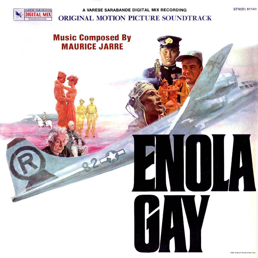 Enola Gay - Original Soundtrack, Maurice Jarre OST LP/CD