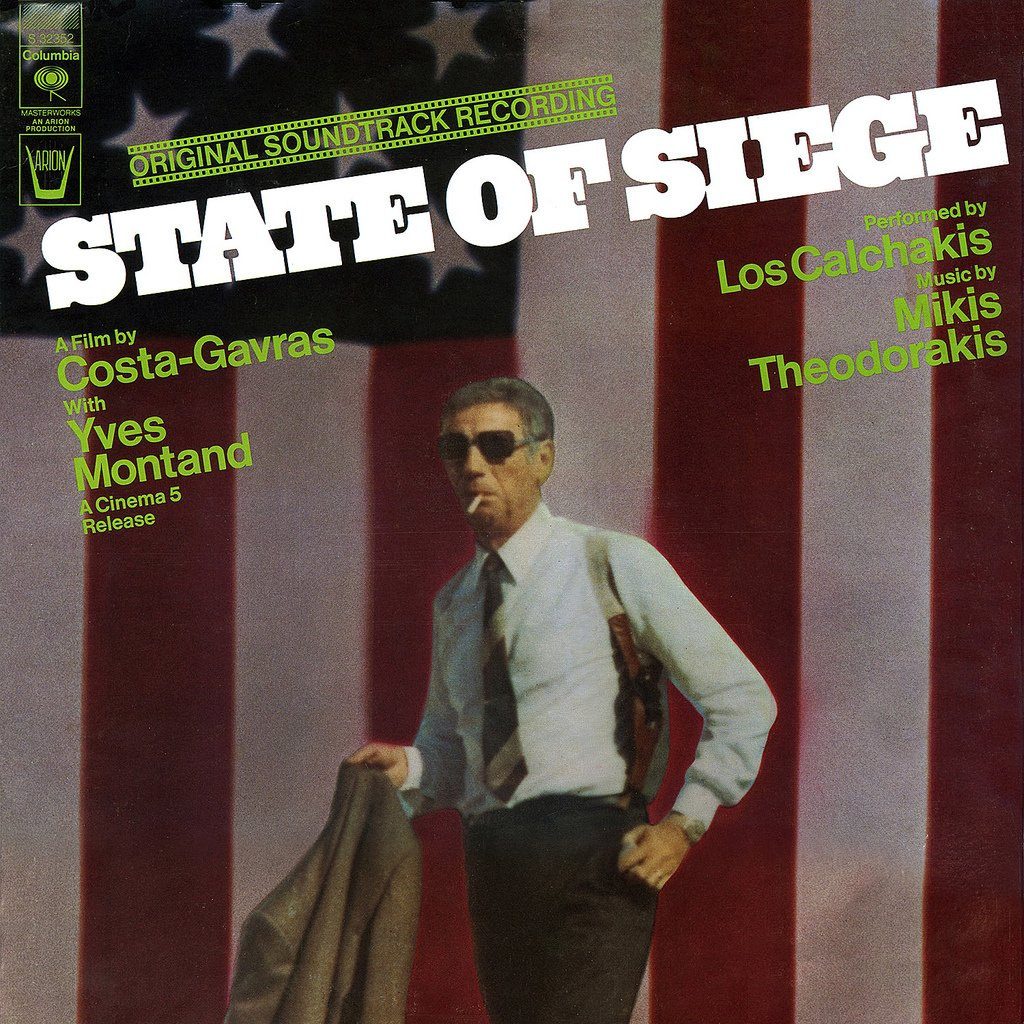State Of Siege / Etat De Siege - Original Soundtrack, Mikis Theodorakis OST LP/CD