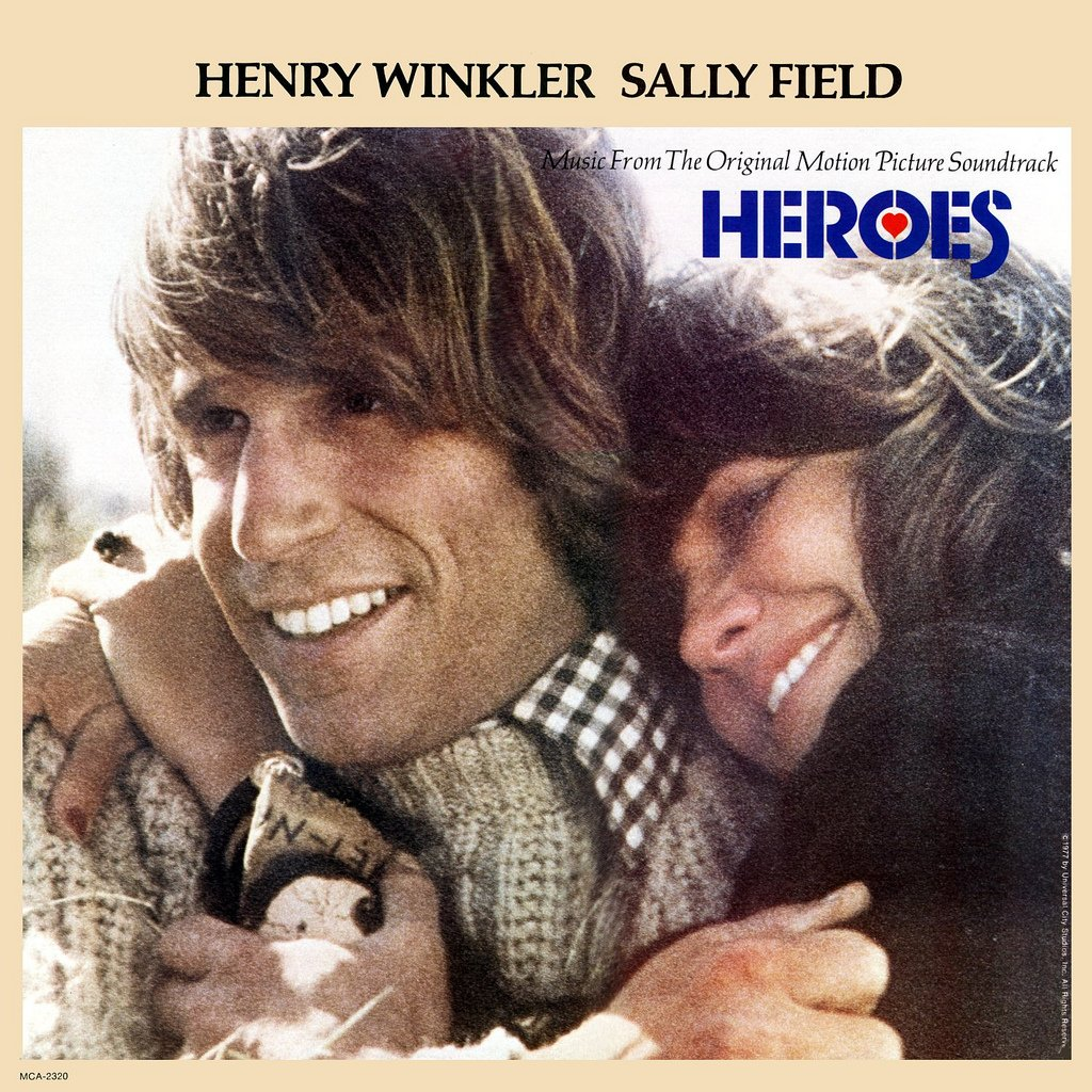 Heroes (1977) - Original Soundtrack, Jack Nitzsche OST LP/CD