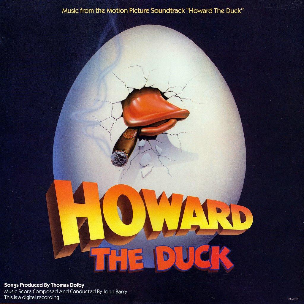 Howard The Duck Original Soundtrack John Barry Amp Thomas