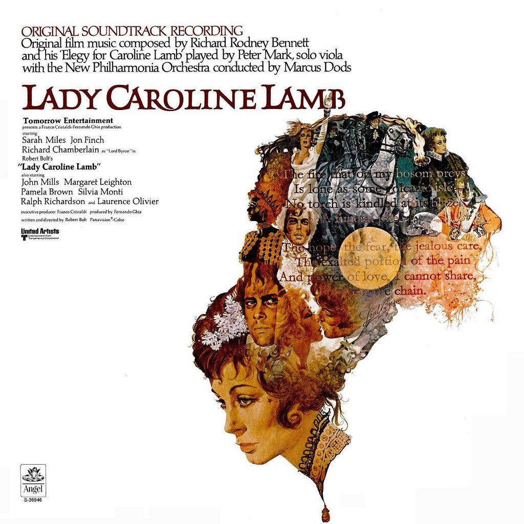 Lady Caroline Lamb - Original Soundtrack, Richard Rodney Bennett OST LP/CD