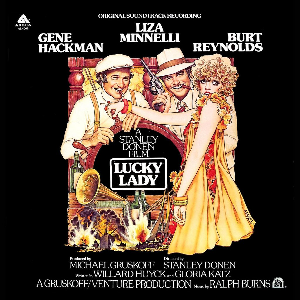 Lucky Lady - Original Soundtrack, Ralph Burns & Liza Minnelli OST LP/CD