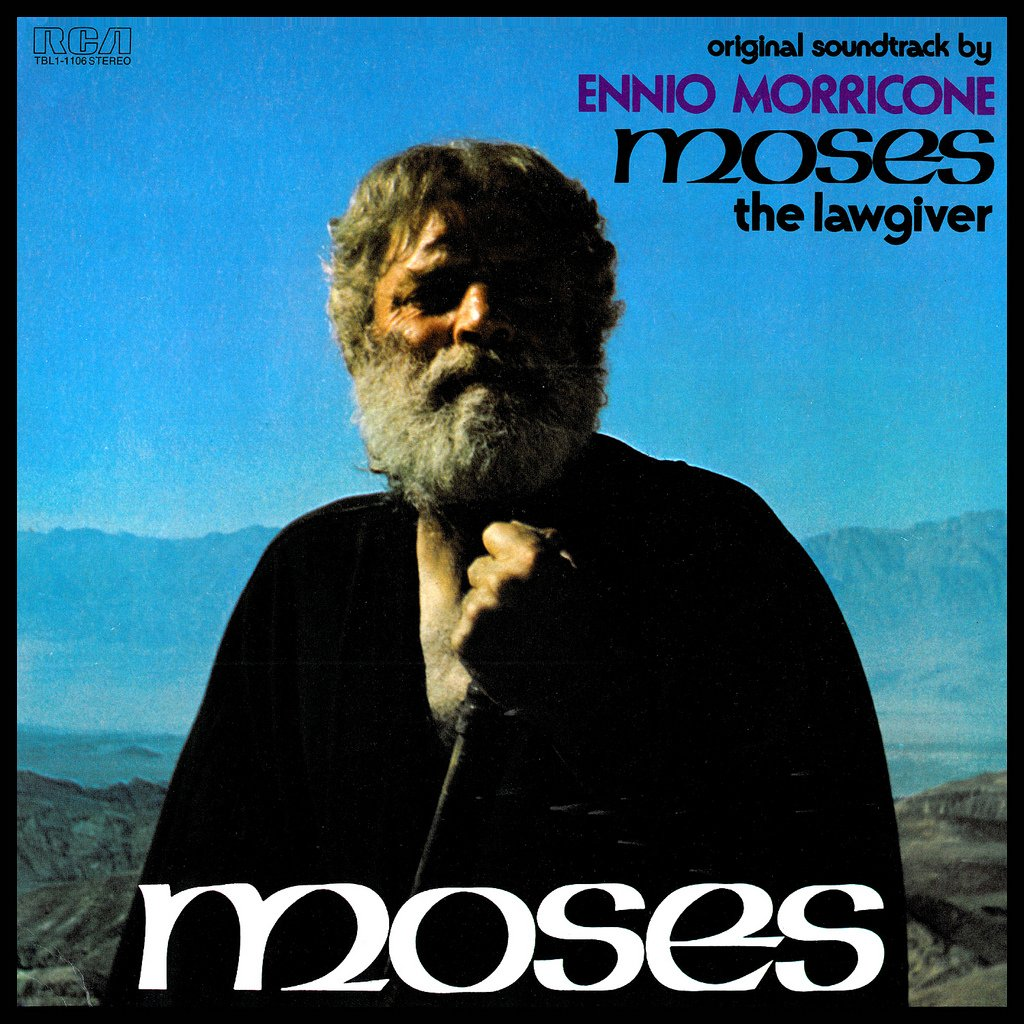Moses The Lawgiver - Original Soundtrack, Ennio Morricone OST LP/CD