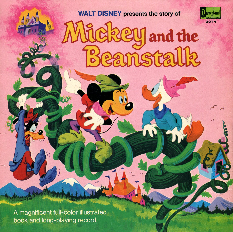 Mickey And The Beanstalk Walt Disney Storyteller