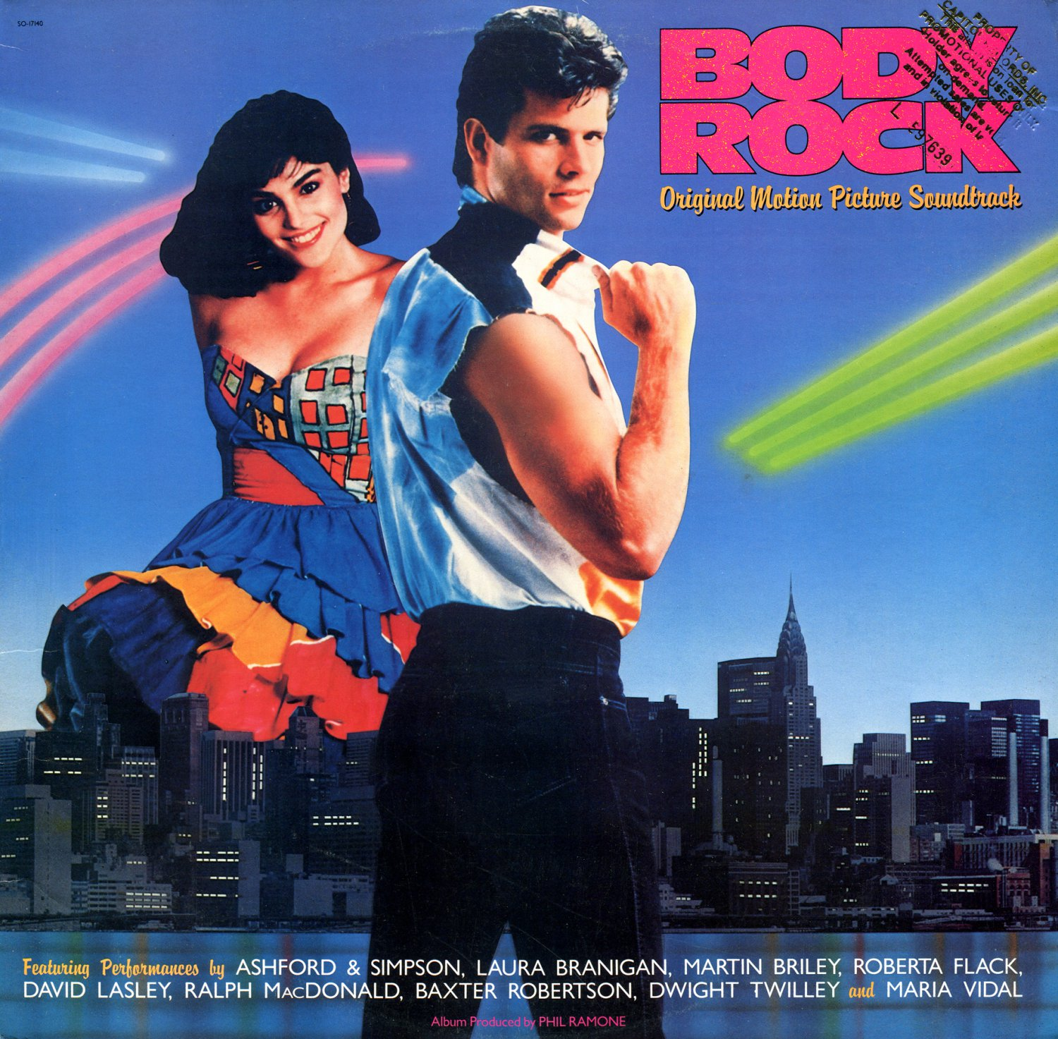 Body Rock - Original Soundtrack,  Ashford and Simpson OST LP/CD
