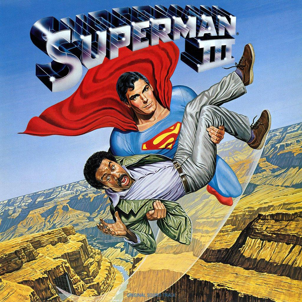 Superman III - Original Soundtrack, John Williams & Ken Thorne OST LP/CD 3