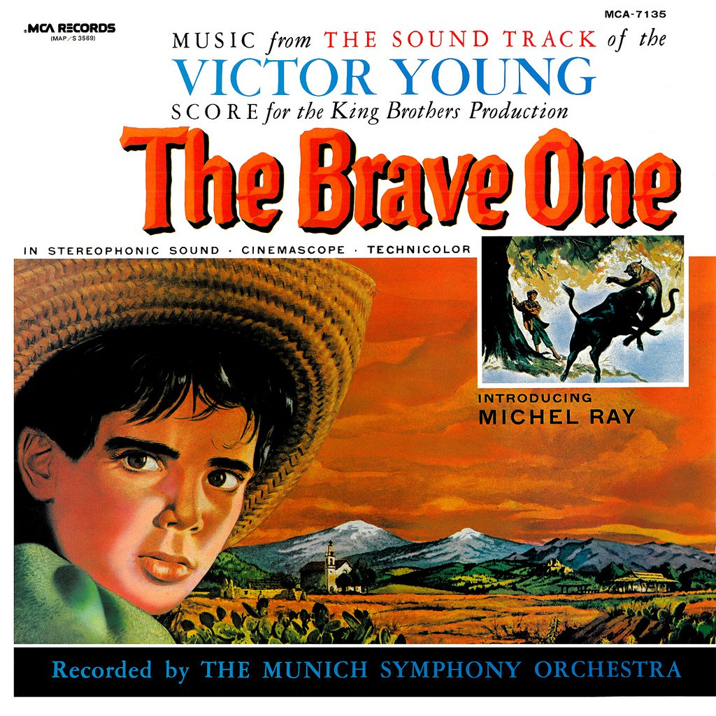 The Brave One - Original Soundtrack, Victor Young OST LP/CD