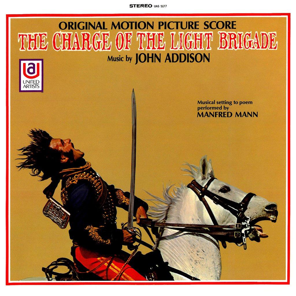 The Charge Of The Light Brigade - Original Soundtrack, John Addison OST LP/CD