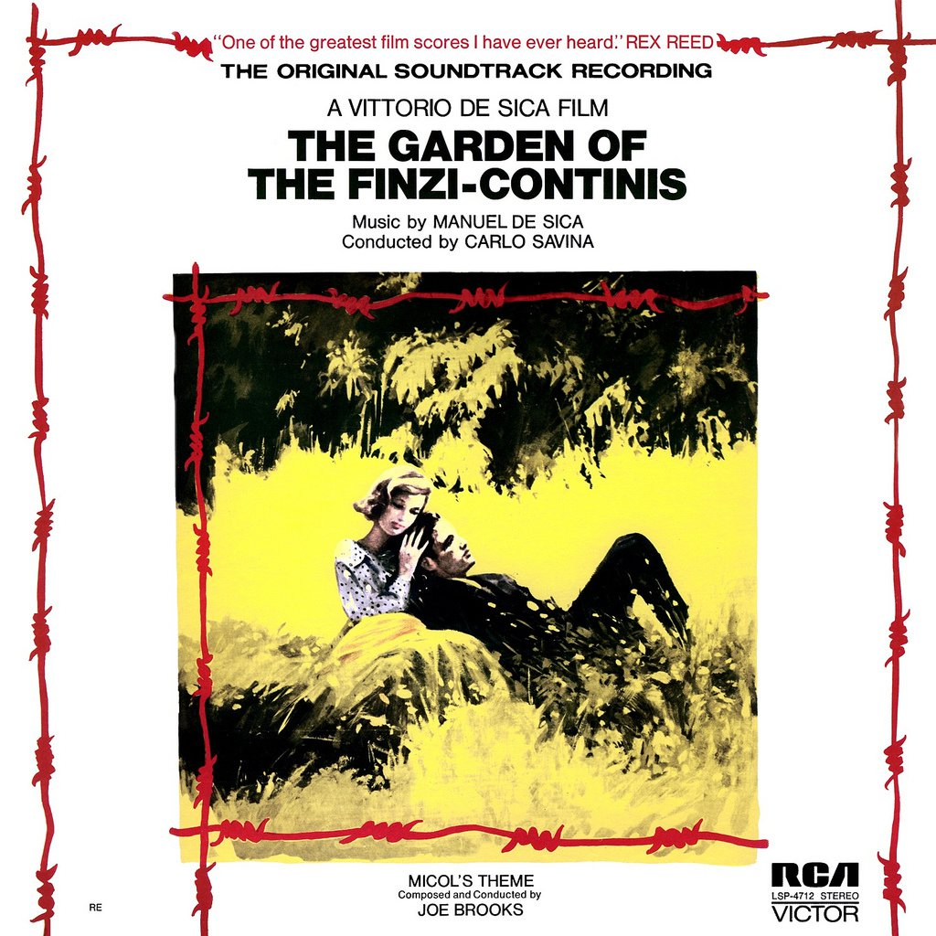 The Garden Of The Finzi-Continis - Original Soundtrack, Manuel De Sica OST LP/CD