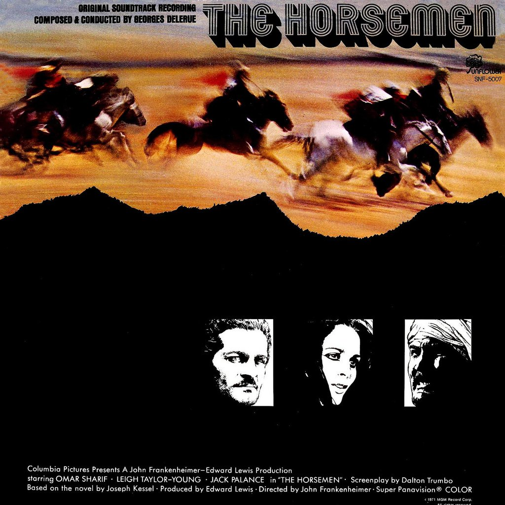 The Horsemen - Original Soundtrack, Georges Delerue OST LP/CD