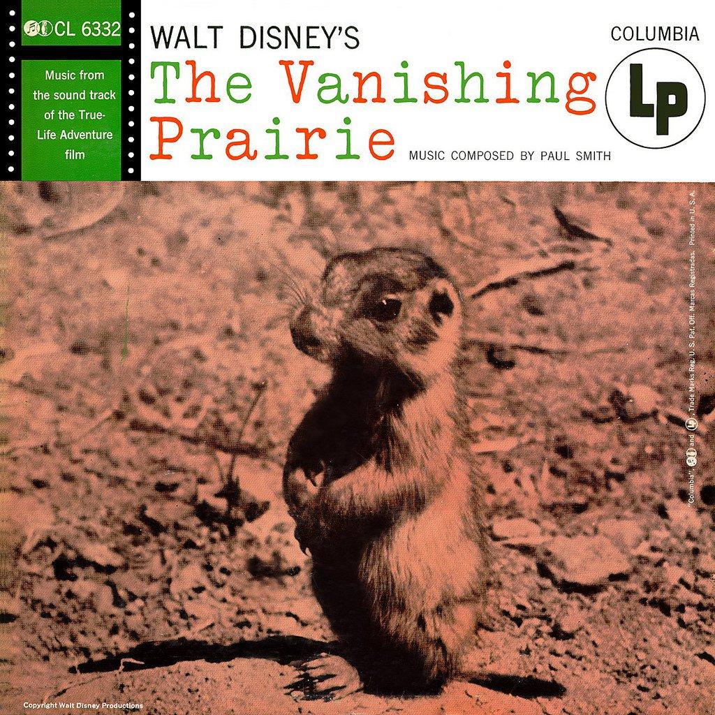 The Vanishing Prairie - Walt Disney True-Life Adventure Soundtrack, Paul J. Smith OST LP/CD