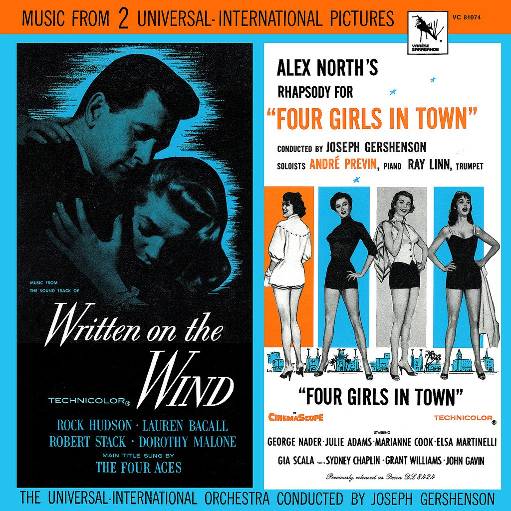 Written On The Wind / Four Girls In Town - Original Soundtrack, Victor Young & Alex North OST LP/CD