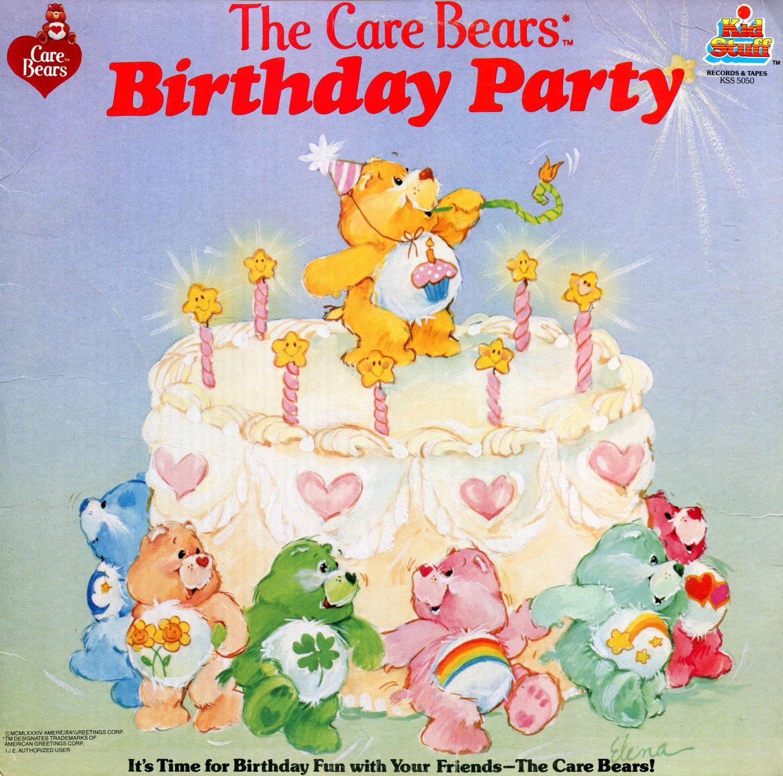 Remarkable The Care Bears Birthday Party Original Soundtrack Lp Cd Birthday Cards Printable Benkemecafe Filternl
