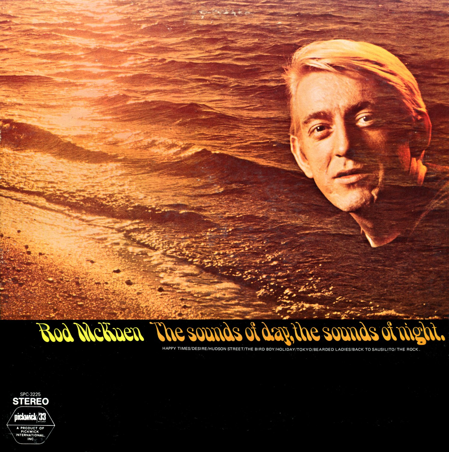 The Sounds Of Day, The Sounds Of Night - Rod McKuen LP/CD