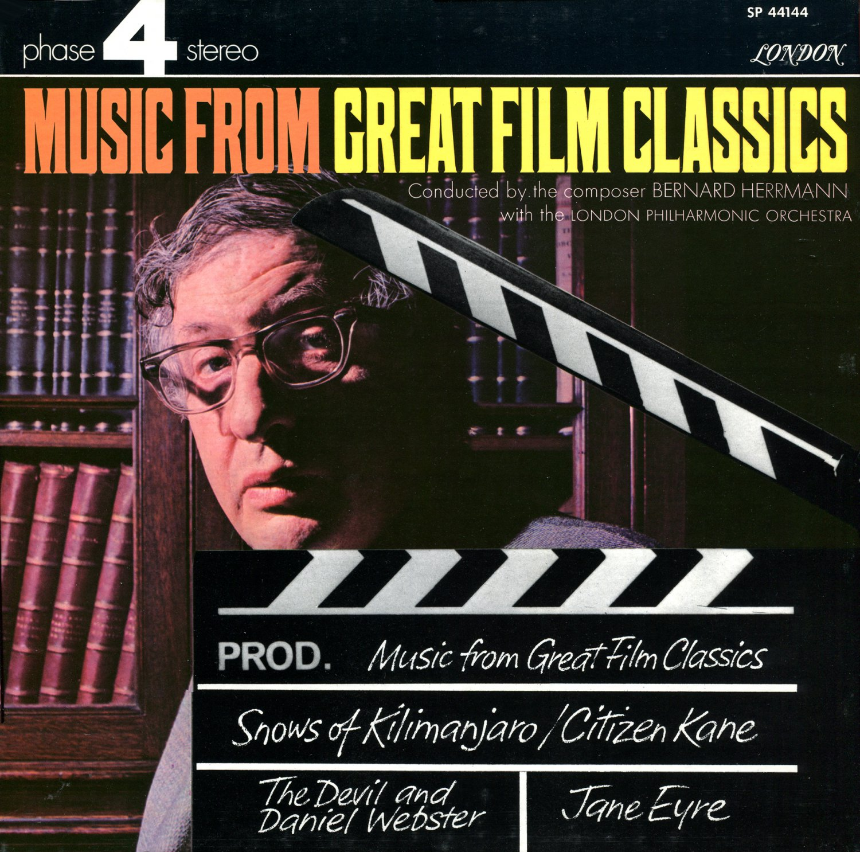 Music From Great Film Classics - Bernard Herrmann Soundtrack Collection LP/CD